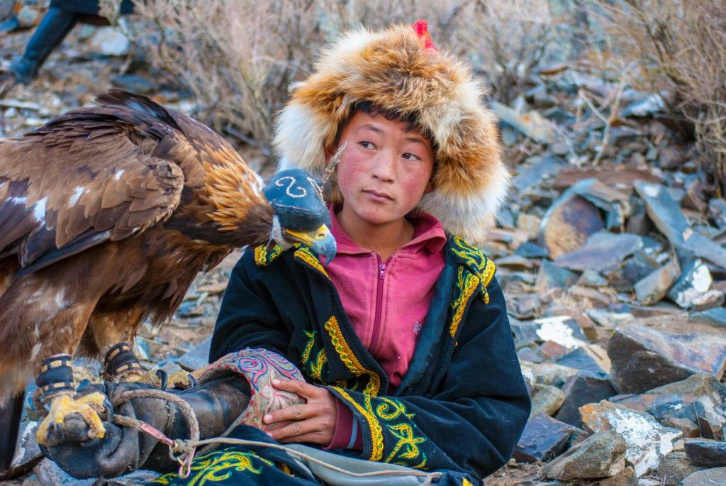 Boy with Eagle
