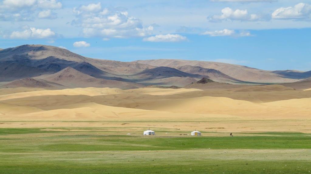 Bugat Valley after Khar Nuur