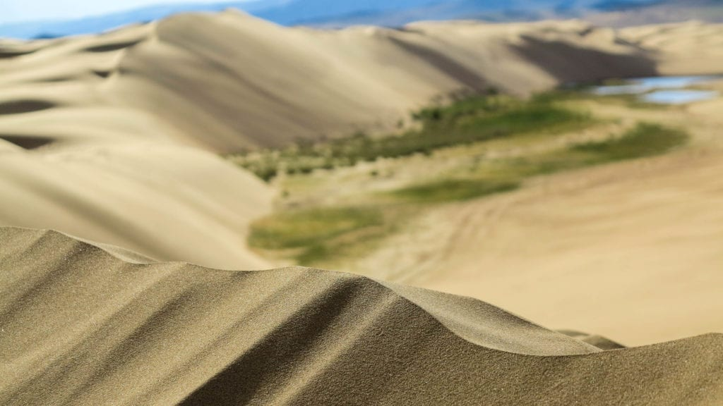 Bugat sand dunes