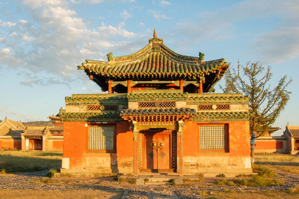 Monastery at Erdene-Zuu