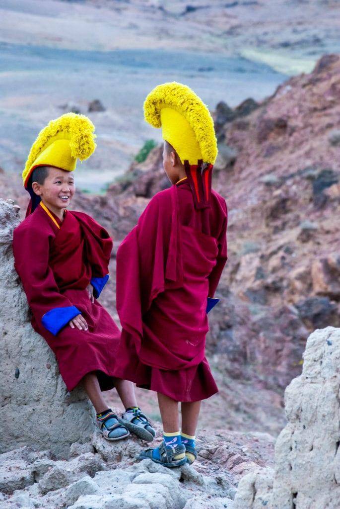 Ongi Monastery monks