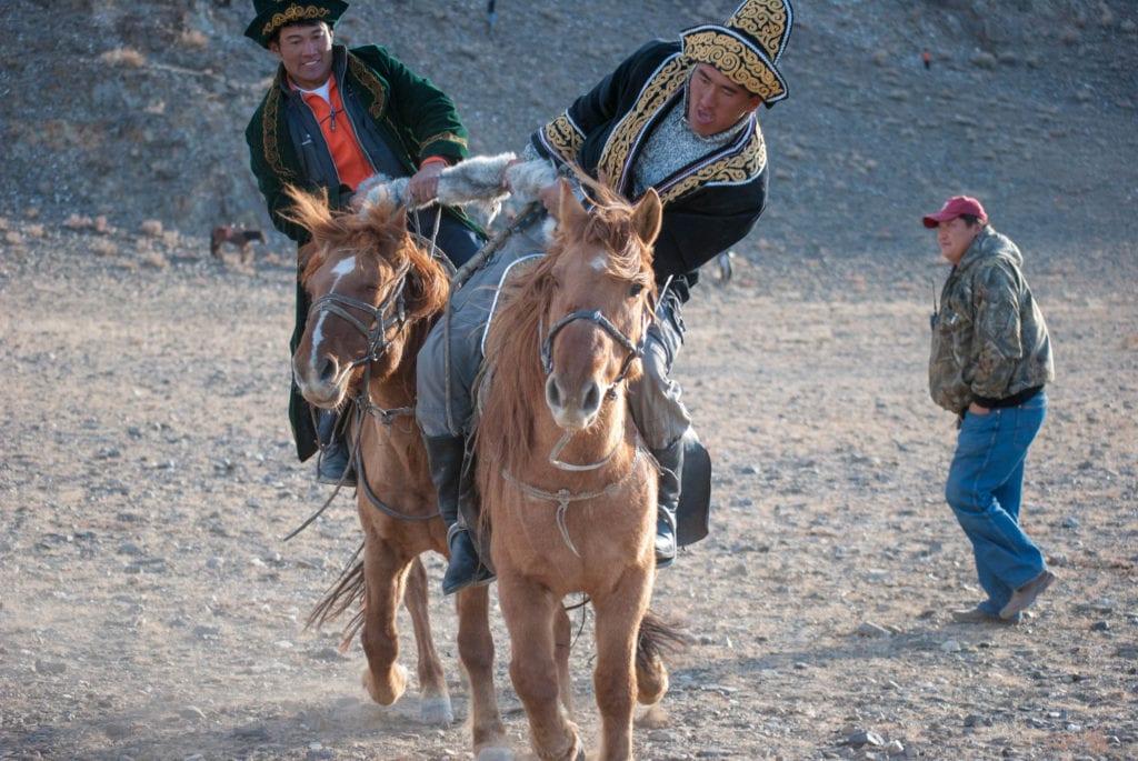 horse riding contest