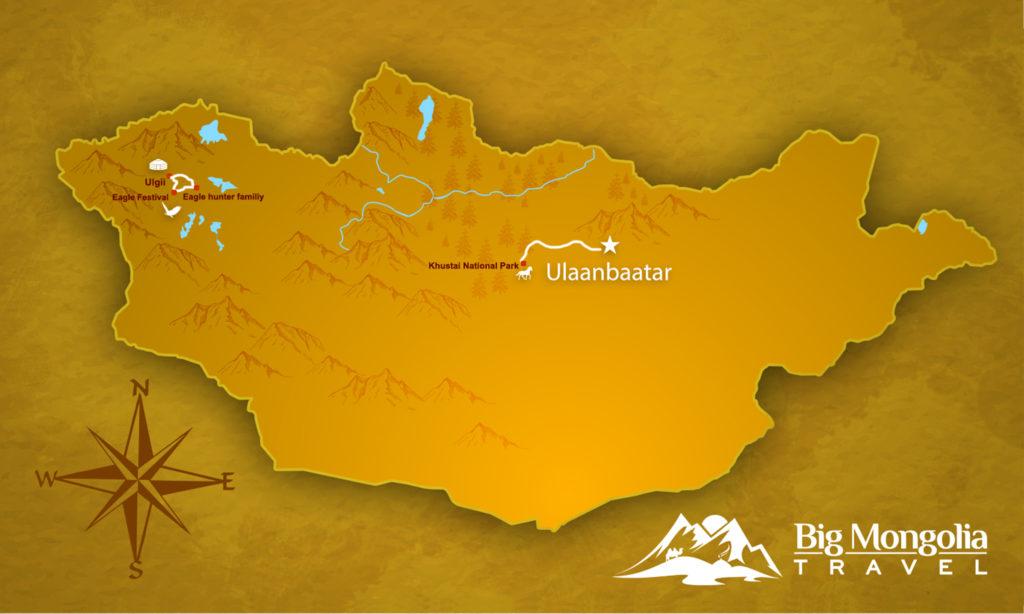 Golden Eagle Festival Map